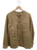Acne studios(アクネストゥディオズ)の古着「Vネックシングルコート」|ブラウン