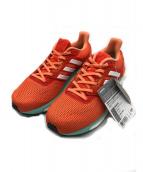 adidas(アディダス)の古着「スニーカー」|オレンジ