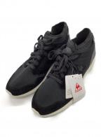 le coq sportif(ルコックスポルティフ)の古着「ランニングシューズ」|ブラック