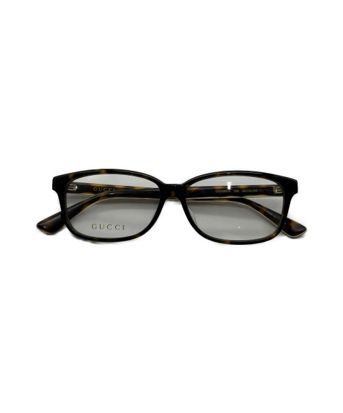 GUCCI(グッチ)GUCCI (グッチ) 眼鏡 ブラック×イエロー GG0386OAの古着・服飾アイテム