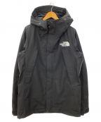 THE NORTH FACE(ザ ノース フェイス)の古着「マウンテンジャケット」 ブラック