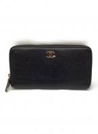 CHANEL(シャネル)の古着「財布」 ブラック