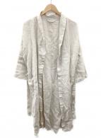 fog linen work(フォグリネンワーク)の古着「リネンワンピース」|ベージュ