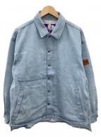 THE NORTH FACE(ザ ノース フェイス)の古着「デニムフィールドジャケット」|スカイブルー