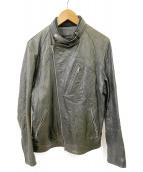 retro grade(レトログレード)の古着「レザージャケット」 ブラック
