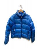 ()の古着「ダウンジャケット」 ブルー