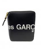 COMME des GARCONS(コムデギャルソン)の古着「ラウンドファスナー財布」 ブラック×ホワイト