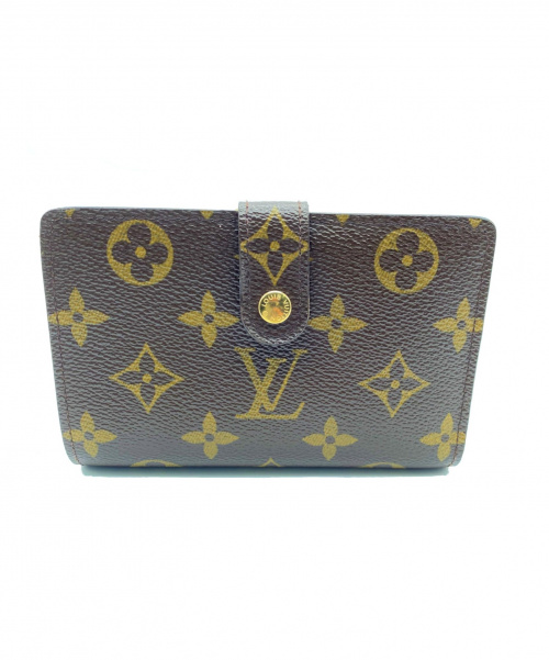 LOUIS VUITTON(ルイ・ヴィトン)LOUIS VUITTON (ルイ・ヴィトン) がま口財布 モノグラム M61674 参考上代¥84.240- CA0095の古着・服飾アイテム
