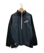 NIKE(ナイキ)の古着「ハーフジップジャージ」|ブラック