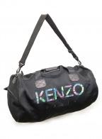 KENZO()の古着「刺繍ボストンバッグ」 ブラック