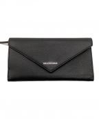 BALENCIAGA(バレンシアガ)の古着「財布」 ブラック