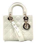 Dior(ディオール)の古着「ハンドバッグ」 ホワイト