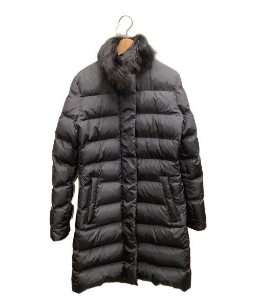 PRADA(プラダ)PRADA (プラダ) ダウンコート ブラック サイズ:38Sの古着・服飾アイテム