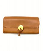 ()の古着「長財布」|キャメル