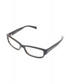 POLICE(ポリス)の古着「伊達眼鏡」|ブラック