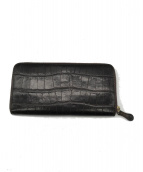 Felisi(フェリージ)の古着「型押し長財布」|ダークブラウン