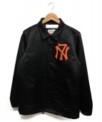 NEXUSVII(ネクサスセブン)の古着「クラシックサテンコーチジャケット」 ブラック×オレンジ