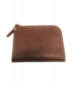 土屋鞄(ツチヤカバン)の古着「ハンディLファスナー」|ブラウン