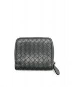 BOTTEGA VENETA(ボッテガヴェネタ)の古着「2つ折り財布」|グレー