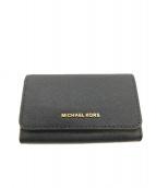 MICHAEL KORS(マイケルコース)の古着「カードケース」|ネイビー