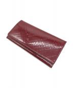 BURBERRY(バーバリーズ)の古着「長財布」|レッド