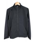 DESCENTE(デサント)の古着「ドットエアークロスウィンドジャケット」|ブラック