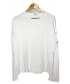AURALEE(オーラリー)の古着「シームレスビッグT シャツ」 ホワイト