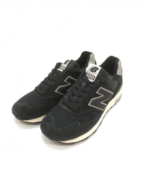 NEW BALANCE(ニューバランス)NEW BALANCE (ニュー・バランス) スニーカー ブラック サイズ:25.5 M1400BKSの古着・服飾アイテム
