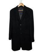 blackbarrett(ブラックバレット)の古着「チェスターコート」 ブラック
