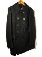Rags McGREGOR(ラグスマックレガー)の古着「Pコート」 ブラック