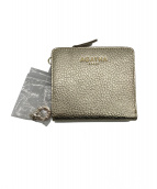 AGATHA(アガタ)の古着「2つ折り財布」|ゴールド
