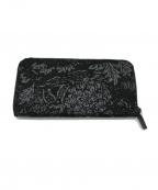 印傳屋(インデンヤ)の古着「長財布」|ブラック