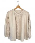 nest Robe(ネストローブ)の古着「リネンシャツ」|ベージュ