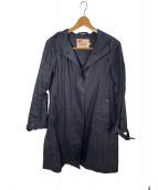Traditional Weatherwear(トラディショナルウェザーウェア)の古着「リネンコート」|ネイビー