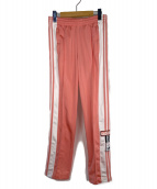 adidas(アディダス)の古着「トラックパンツ」|ピンク