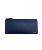 PAUL SMITH(ポールスミス)の古着「長財布」|ブルー