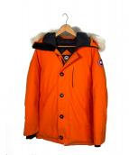 CANADA GOOSE(カナダグース)の古着「ダウンジャケット」|オレンジ
