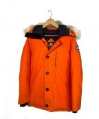 CANADA GOOSE()の古着「ダウンジャケット」|オレンジ