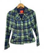 V.W. RED LABEL(ヴィヴィアンウエストウッドレッドレーベル)の古着「ジャケット」|グリーン