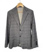 EDIFICE(エディフィス)の古着「ストレッチ2Bジャケット」 グレー