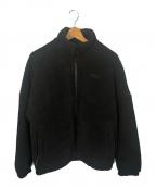 FILA(フィラ)の古着「ボアジャケット」|ブラック