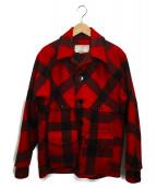 FILSON GARMENT(フィルソンガーメント)の古着「ダブルマッキーノクルーザージャケット」|レッド