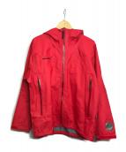 MAMMUT(マムート)の古着「アルファジャケット」|レッド