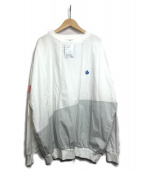 ALDIES(アールディーズ)の古着「ビッグシルエットTシャツ」|ホワイト