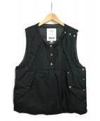 NANGA(ナンガ)の古着「ダウンベスト」 ブラック