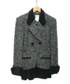 CELINE(セリーヌ)の古着「ツイードジャケット」|グレー
