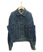 LEE(リー)の古着「ヴィンテージデニムジャケット」|インディゴ