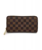 LOUIS VUITTON(ルイヴィトン)の古着「ラウンドファスナー財布」|ブラウン