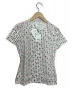 CELINE(セリーヌ)の古着「総柄シャツ」|ホワイト
