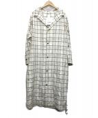 so1:1(ソウワンバイワン)の古着「シャツワンピース」|ベージュ